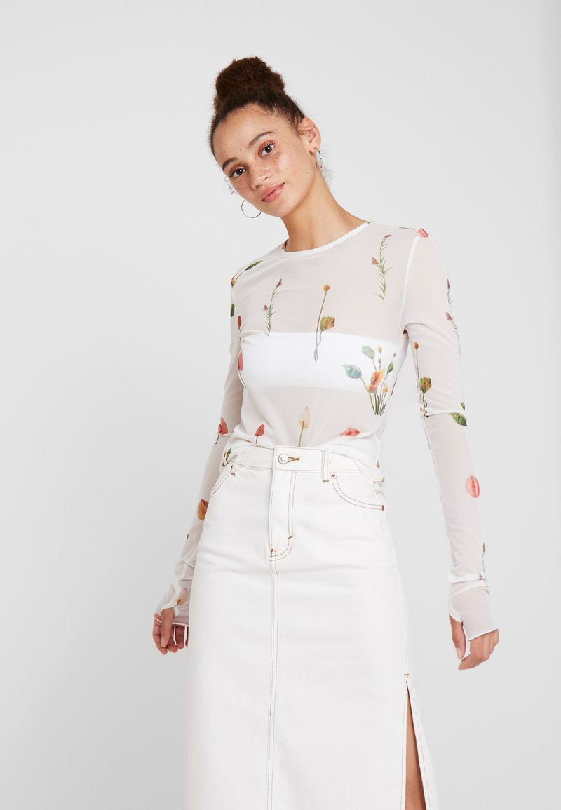 Aéryne - CAMILLE - Långärmad tröja - blanc