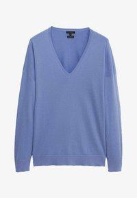 Massimo Dutti - Sweatshirt - blue - 0