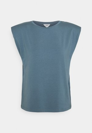 OBJSTEPHANIE JEANETTE - Basic T-shirt - blue mirage