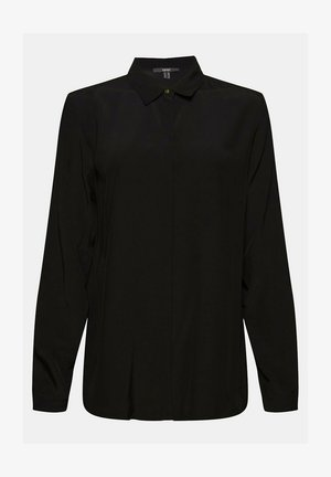 TOUCH ECO - Button-down blouse - black