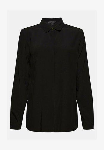 TOUCH ECO - Button-down blouse - black
