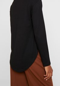 Anna Field - BASIC - Langærmede T-shirts - black - 5