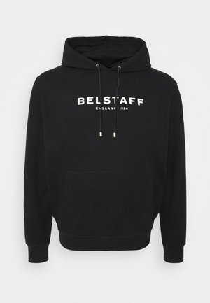 BIG TALL - Felpa - black/off white
