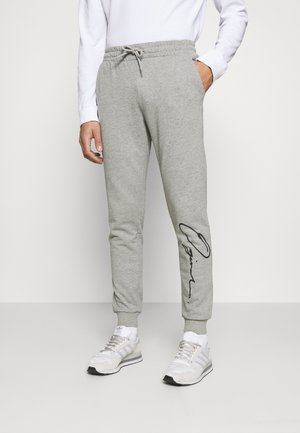 JORSCRIPTT PANTS  - Joggebukse - light grey melange