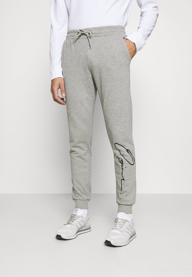 JORSCRIPTT PANTS  - Pantaloni sportivi - light grey melange