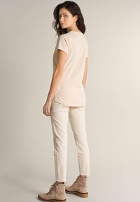 Salsa - SAMARA REGULAR - Print T-shirt - weiß - 2
