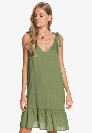 LAZY HOLY  - Day dress - vineyard green