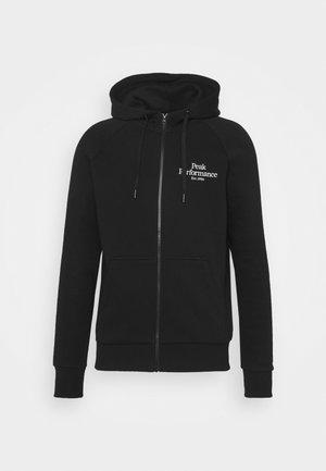 ORIGINAL ZIP HOOD - Zip-up sweatshirt - black