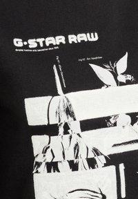 G-Star - GRAPHIC THISTLE XZYPH - Jumper - dk black - 2