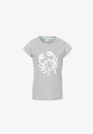 SIMPLY - Print T-shirt - grey