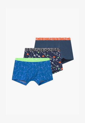 TRUNK 3 PACK - Boxerky - orange/multi-coloured
