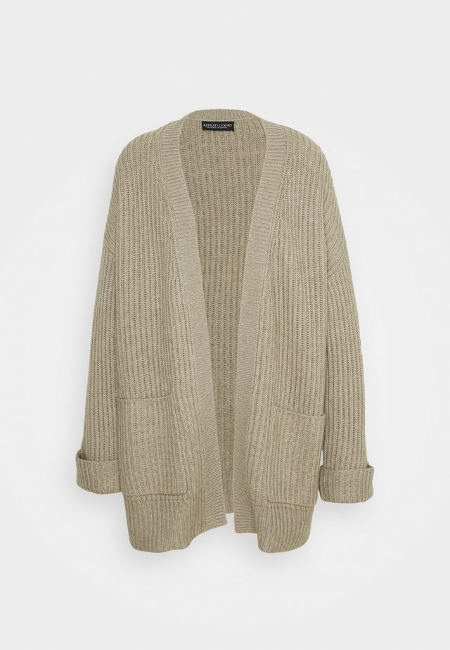 CARDIGAN - Gilet - pepper