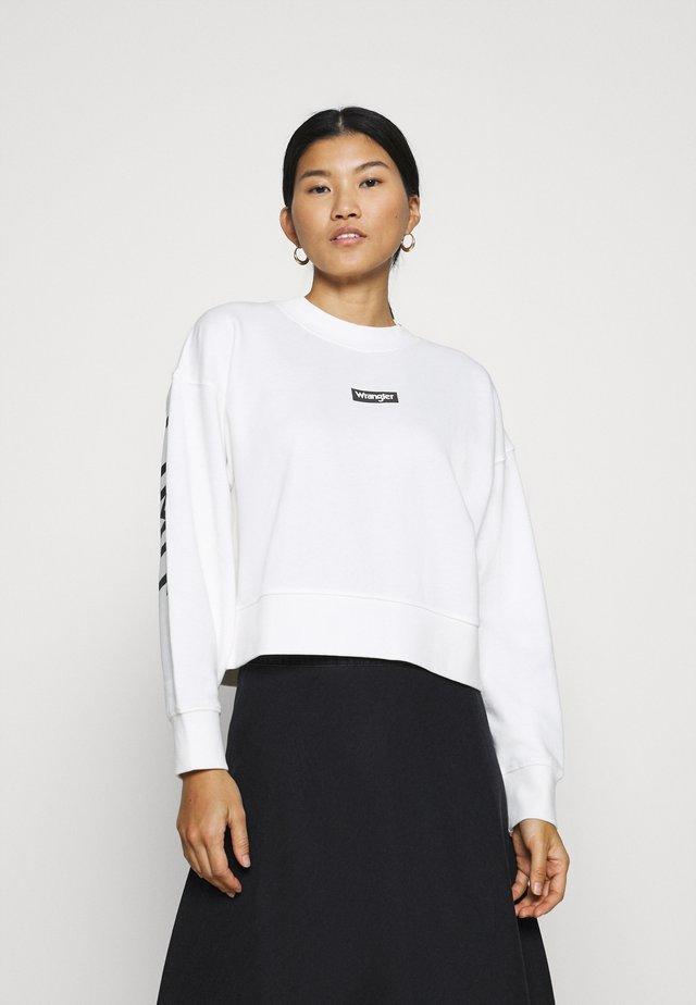 HIGH BOXY RETRO - Sweatshirt - off-white