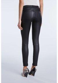 SET - LEDERHOSE DAKOTA - Leather trousers - black - 2