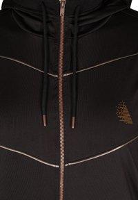Active by Zizzi - Zip-up hoodie - black - 5
