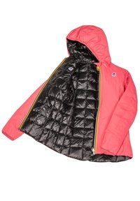 K-Way - THERMO PLUS. 2 DOUBLE - Down jacket - red claret-black pure - 5