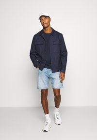 Tommy Jeans - LONGSLEEVE CORP - Långärmad tröja - twilight navy - 1