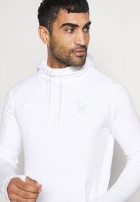 Nike Performance - FRANKREICH FFF HOOD - Sweatshirt - white - 4