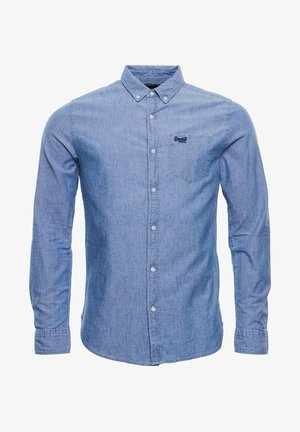 CLASSIC UNIVERSITY OXFORD - Shirt - indigo chambray oxford