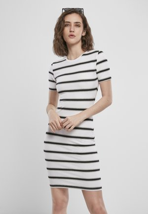 Sukienka etui - white/black