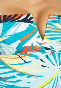 Marks & Spencer London - PALM - Swimsuit - aqua - 4