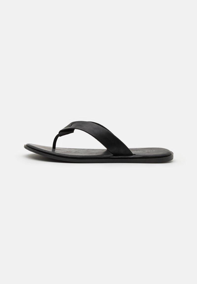 Pier One - T-bar sandals - black