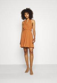 Trendyol - LACIVERT - Day dress - camel - 1