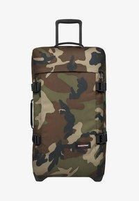 Eastpak - TRANVERZ M CORE COLORS  - Wheeled suitcase - camo - 1