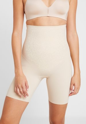 HIGH WAIST THIGH SLIMMER - Shapewear - nude