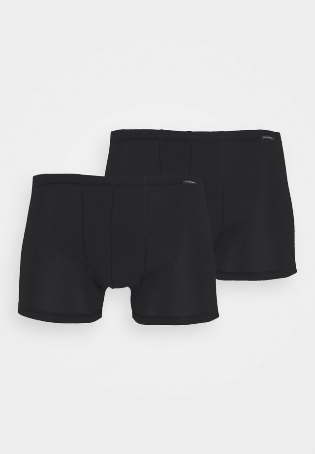 BOXERSHORTS 2 PACK - Pants - black