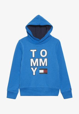 MULTI GRAPHIC HOODIE - Hoodie - blue