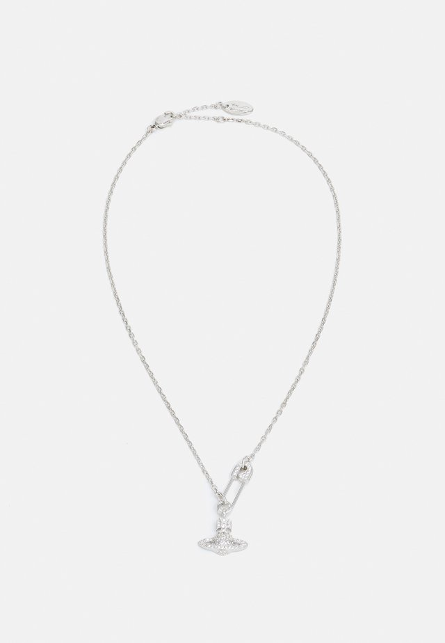 LUCRECE PENDANT - Necklace - silver-coloured
