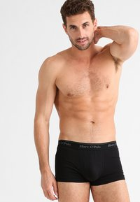 Marc O'Polo - 3 PACK - Pants - black - 0