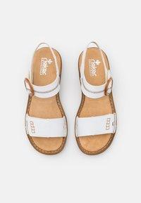 Rieker - Sandals - weiß - 5