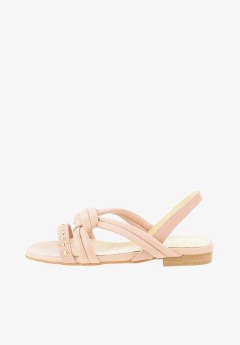 NURECI - Sandaalit nilkkaremmillä - pink