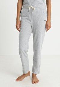 Tommy Hilfiger - PANT - Pyjama bottoms - grey - 0