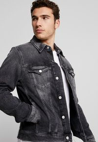 Calvin Klein Jeans - FOUNDATION SLIMJACKET - Cowboyjakker - grey - 3