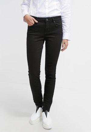 PANTS - Slim fit jeans - black