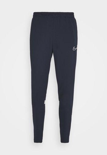 ACADEMY 21 PANT - Teplákové kalhoty - obsidian/white