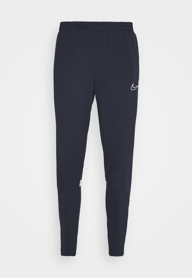 ACADEMY 21 PANT - Tracksuit bottoms - obsidian/white