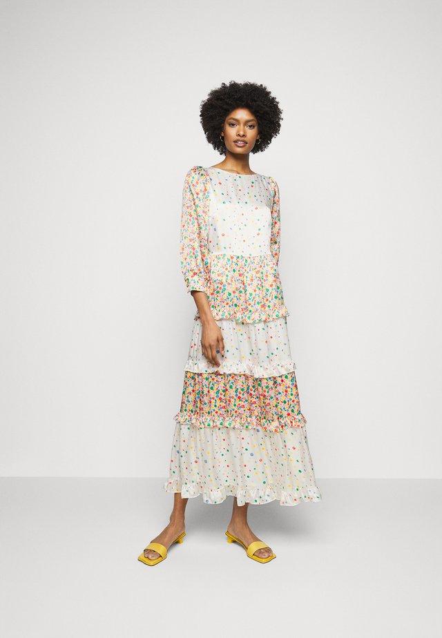 BIBI DRESS - Maxikjoler - rainbow floral