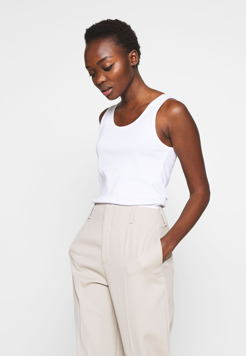 Filippa K - ROBIN TANK - Top - white
