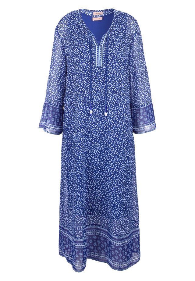 Day dress - blue aop