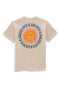 Vans - MN ENDLESS RAYS SS - Print T-shirt - antique white - 1