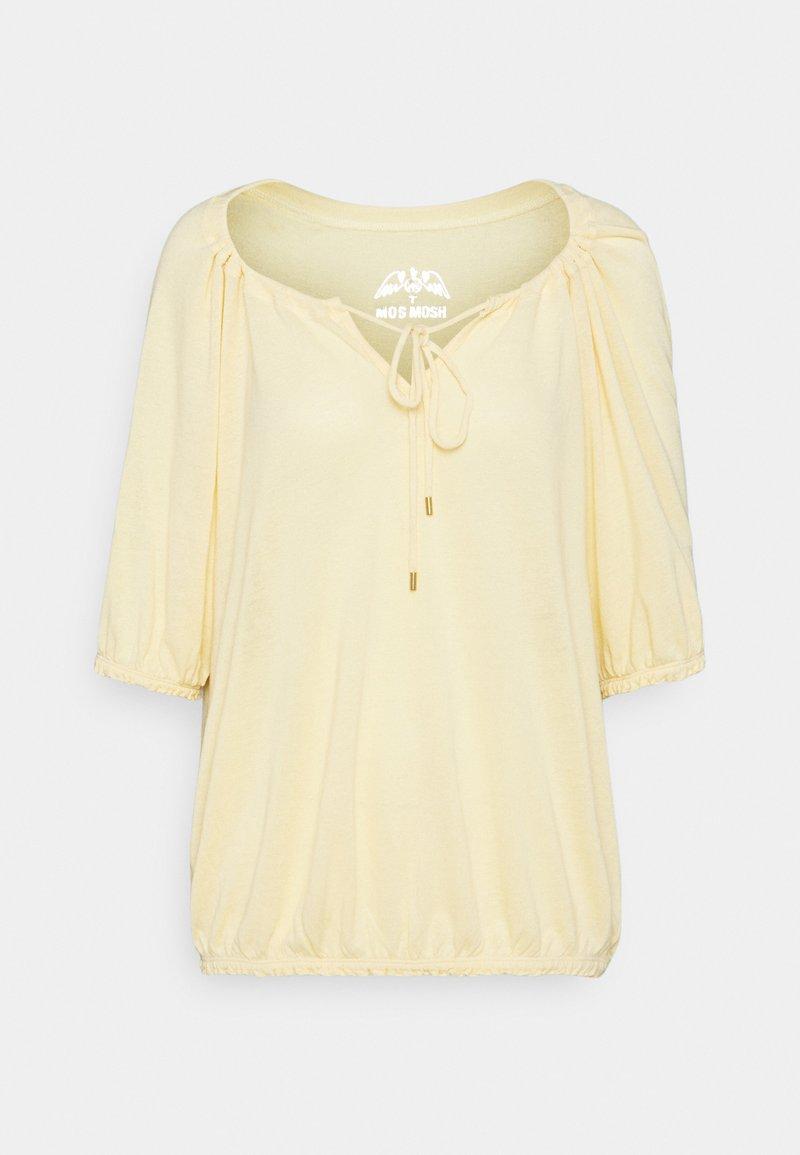 Mos Mosh - AVIE TEE - Jednoduché triko - charmomile