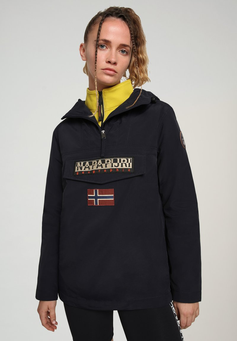 Napapijri - RAINFOREST SUMMER - Winter jacket - blu marine
