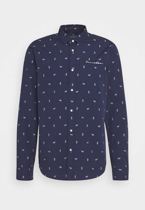 REGULAR FIT CHIC POCHET - Shirt - dark blue
