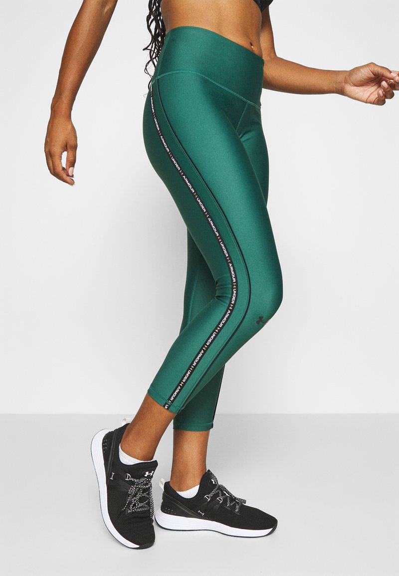 Under Armour - ANKLE CROP - Leggings - saxon green