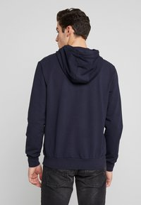 Antony Morato - HOOD DOUBLE COULISSE AND FRONT LOGO PRINT - Hoodie - ink blue - 2
