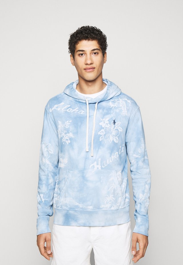 TERRY - Sweat à capuche - french blue